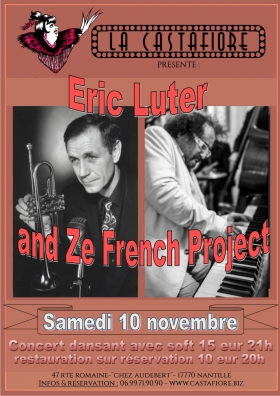 Concert dansant Eric Luter and Zé French Project