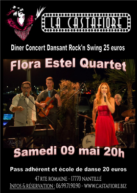 diner concert dansant Flora Estel - Rock and swing