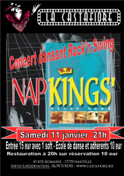 Concert dansant NAPKINGS - Bal Rock'n swing