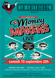 Concert dansant The Money makers